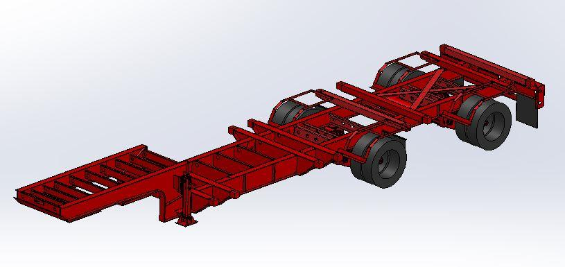 Frac Sand Chassis | Trailers By Southern